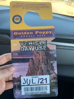 State park yearly pass! for Sale in Elverta, CA