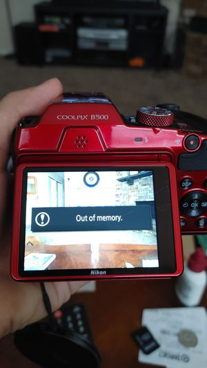 Nikon coolpix B500 camera for sale or trade for Sale in San Antonio, TX