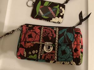 Vera Bradley Lola Pattern Large wristlet with zipper ID holder for Sale in Covington, GA