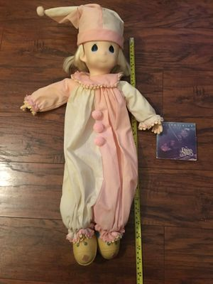 Collectible 1991 Precious Moments Pink Pajama Doll / Price: $5 for Sale in San Antonio, TX