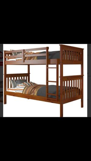 Bunk bed twin over twin asking 150 obo not free for Sale in Anaheim, CA