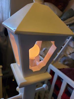 Short floor lamp with hangers for Sale in Renton, WA