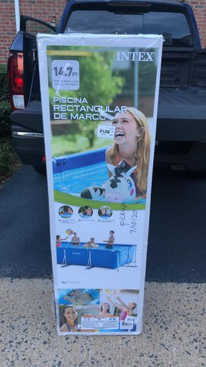 "BRAND NEW INTEX 14.75' x 33"" RECTANGULAR POOL!! for Sale in Fairfax, VA"
