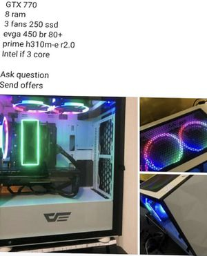 Gaming pc SEND OFFER for Sale in Anderson, CA