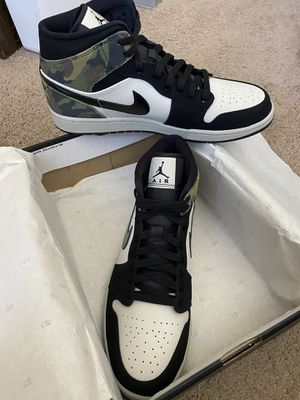 Jordan 1 Mid Camo Size 11.5 Men for Sale in Los Angeles, CA