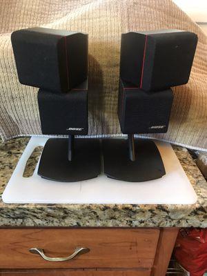 Bosé Redline Dual Cube Swivel Speakers w/oem Bosé Stands for Sale in Burbank, CA