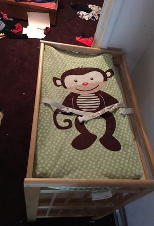 Changing table and storage 45 obo for Sale in Compton, CA