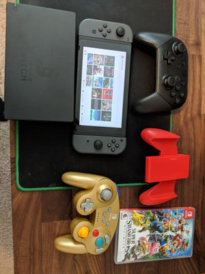 Nintendo Switch Bundle 14 Games and Pro + GameCube Controller for Sale in Raleigh, NC