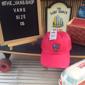 Vans Pink Mushroom Baseball Hat New With Tags for Sale in Mission Viejo, CA