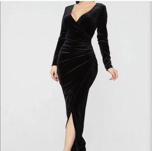 Velvet maxi dress for Sale in Houston, TX