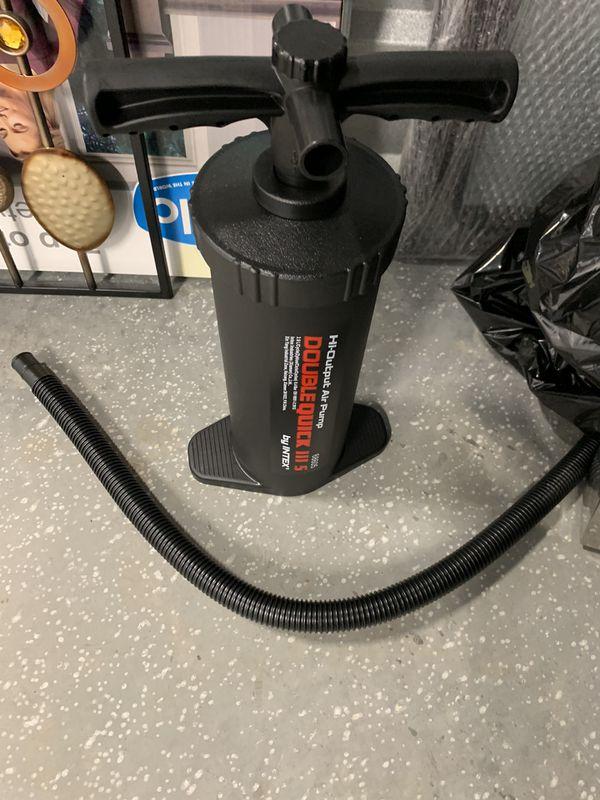 Kids air pump