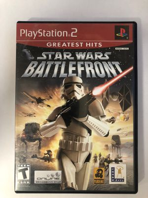 PS2 Star Wars Battlefront for Sale in Temecula, CA