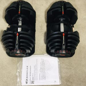"""""""BRAND NEW IN BOX"""". BOWFLEX SELECT TECH 1090 DUMBBELLS WEIGHTS ( FOR REASONABLE PRICE WILL NEGOTIATE ) 1090•1090•1090•1090•1090•1090•1090•1090•1090• for Sale in Las Vegas, NV"""