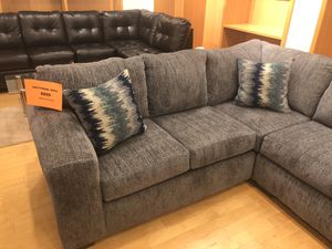 Grey Fabric Sectional Sofa for Sale in Dallas, TX