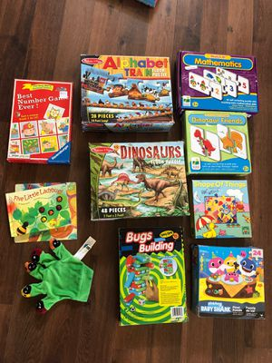 Preschool package of games and toys for Sale in AZ, US