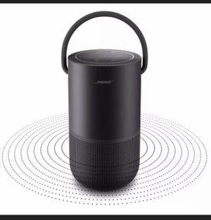 Bose Portable Wi-Fi/Bluetooth Home Speaker – Triple Black for Sale in Lodi, NJ