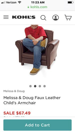 Mellissa and Doug kids chair for Sale in Marysville, OH