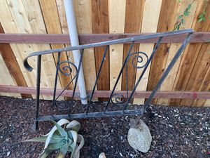 Vintage wrought iron hand rails 75$ for Sale in Moreno Valley, CA