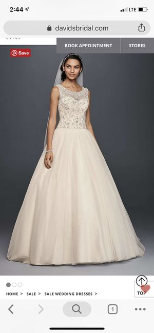Wedding Dress for Sale in Angier, NC