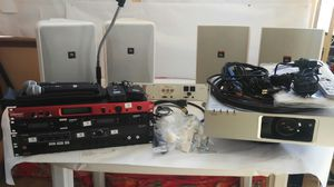 Complete Commercial Audio Presentation System With Projector for Sale in Edgerton, MO