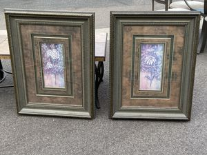 Set of 2 Pictures with Frames for Sale in Mesa, AZ