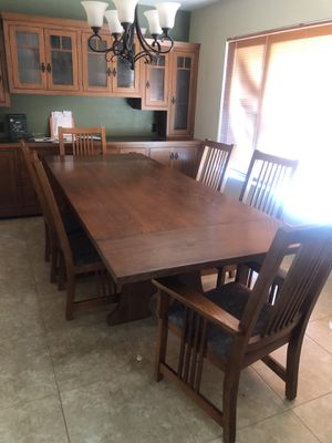 Dining table and chairs for Sale in Irvine, CA
