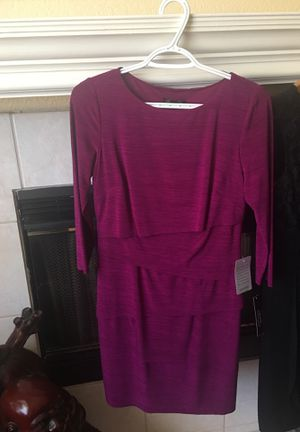 Size Medium dresses for casual business wear, 5 dresses for $80 only. 2 of which are still new never been used ( the Magenta , and the black ) for Sale in Riverside, CA