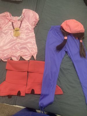 Girl Izzy costume size 5-6/ jake and never land pirates for Sale in Miami Lakes, FL