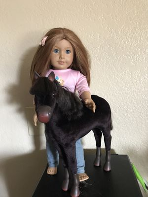 American girl doll and horse for Sale in Moreno Valley, CA