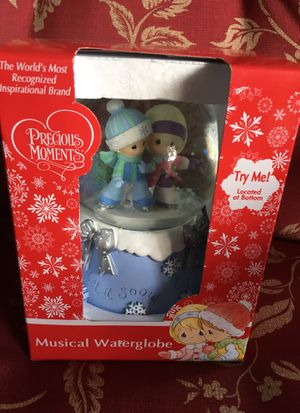 Precious moments musical water globe for Sale in Bartow, FL