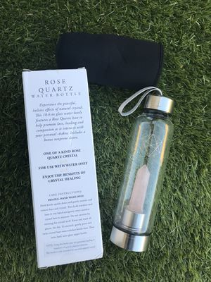 Quartz Crystal Water Bottle for Sale in Fontana, CA