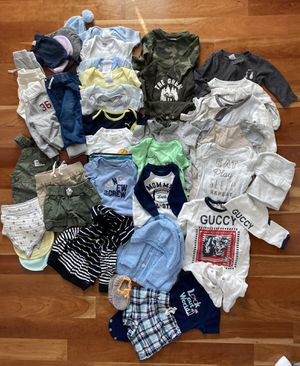 Baby Boy's Clothes (3, 3-6, 6 months) for Sale in San Marcos, CA