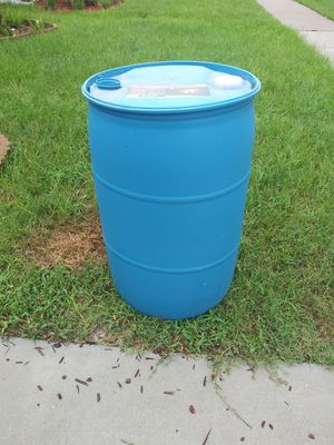Plastic barrels 55 gallon for Sale in Ruskin, FL