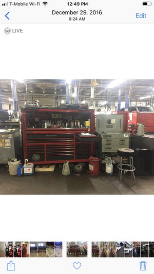 Matco 6s tool box with hutch for Sale in Fairfax, VA