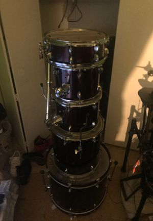 Sound Percussion 5 pc drum set for Sale in ROCKAWAY BEAC, NY