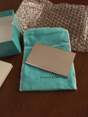 Brand new Tiffany & Co. Sterling Silver business card holder- perfect for a gift for Sale in San Francisco, CA