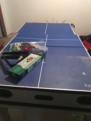 Pool, air hockey and ping pong table all in one for Sale in Lakewood, OH