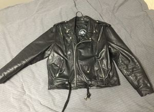 Himalaya Motor Bike Wear Leather Jacket Size 46 for Sale in Kent, WA
