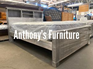 Queen bed & mattress set for Sale in Huntington Park, CA