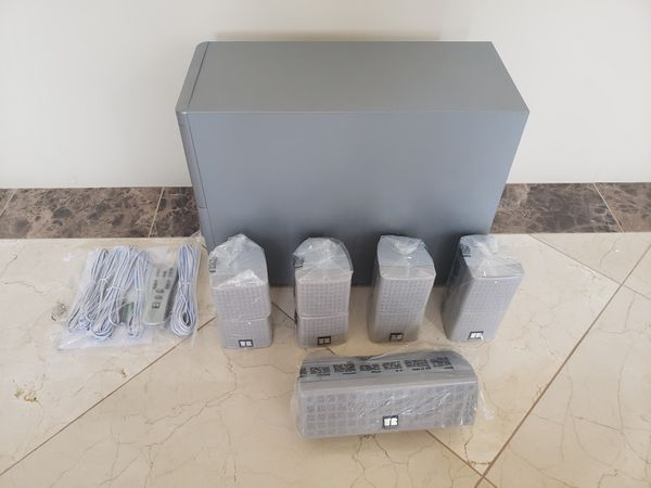 CUBE Speakers with Sub Woofer
