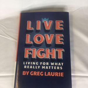 Live Love Fight / Hardcover / Clean !!! for Sale in Montebello, CA