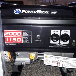 GENERATOR PowerBoss portable for Sale in Martinez, CA