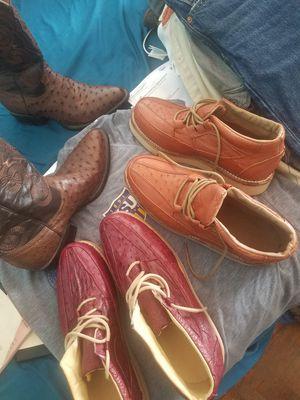 sapatos de avestruz nuevos for Sale in Galena Park, TX