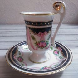 Vintage Tall Demitasse Cup and Saucer for Sale in Kearns,  UT