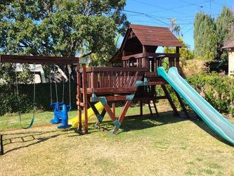 Amazing Redwood Swing and Adventure Play Set for Sale in San Gabriel,  CA