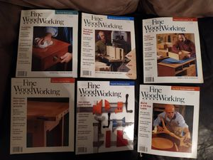 Fine Woodworking Magazine 21 issues Full Year for 2004, 2005, 2006 for Sale in South Attleboro, MA