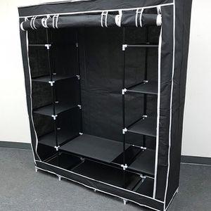 "(NEW) $35 each Fabric Wardrobe Closet Storage Clothes Organizer 60x17x68"" (3 Colors) for Sale in South El Monte, CA"