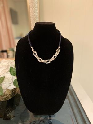 Blue and silver necklace for Sale in Philadelphia, PA
