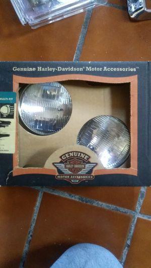 Harley Davidson 12 volts spot light set for Sale in National City, CA