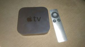 3rd gen Apple tv with subscriptions installed. a deal u shouldn't pass up for Sale in Knightdale, NC
